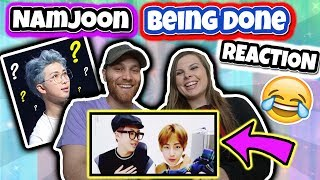 Download namjoon being done with bts' english (HILARIOUS REACTION) Video