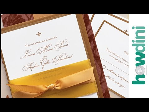 How to manage your wedding invitations