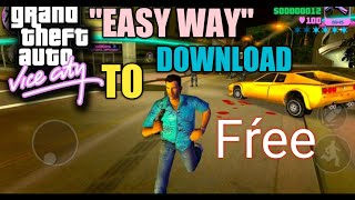 💝(240 mb) How to Download GTA Vice City Game for Free On