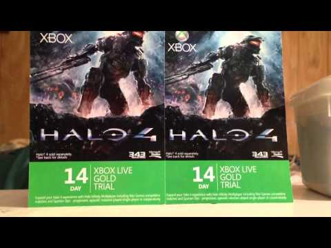 XBOX LIVE Gold Giveaway