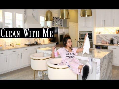 Kitchen Cleaning Routine  - MissLizHeart