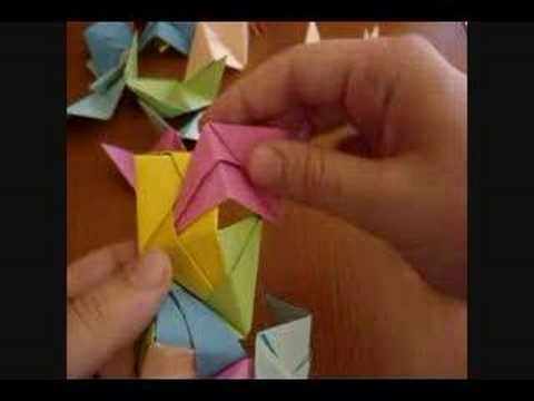 Origami Icosahedron and Cube
