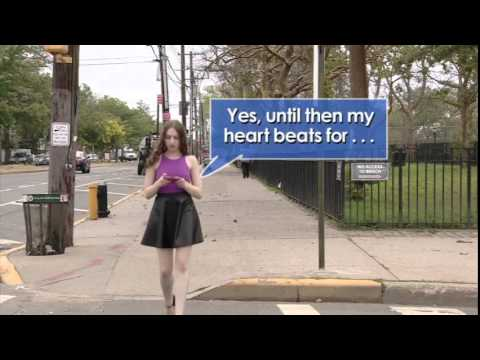 Texting While Walking Bus Safety PSA - Fall 2014