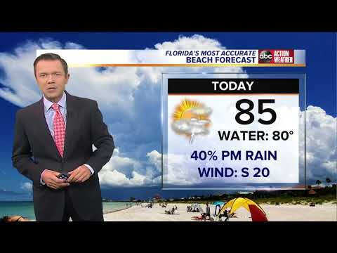 Florida's Most Accurate Forecast with Greg Dee on Monday, May 28, 2018