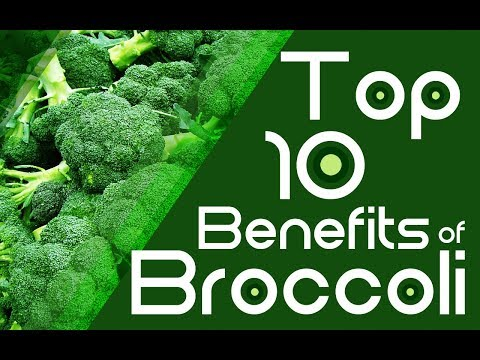 Top 10 Benefits of BROCCOLI - Health Benefits of Broccoli for Hair, skin, Heart & weight loss