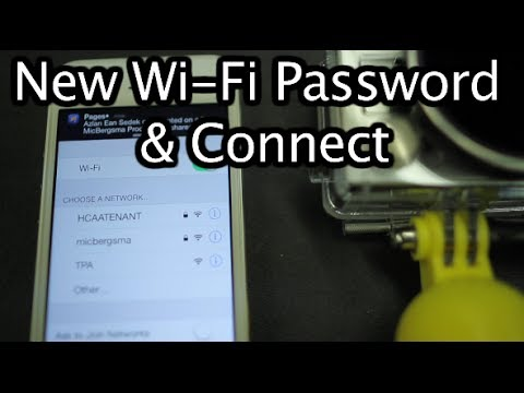 GoPro WiFi - Password Set-up & Connect - GoPro Tip #297