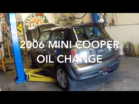 2006 Mini Cooper S Oil Change