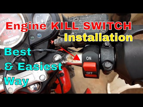 Kill Switch Installation for Bike and Scooters.