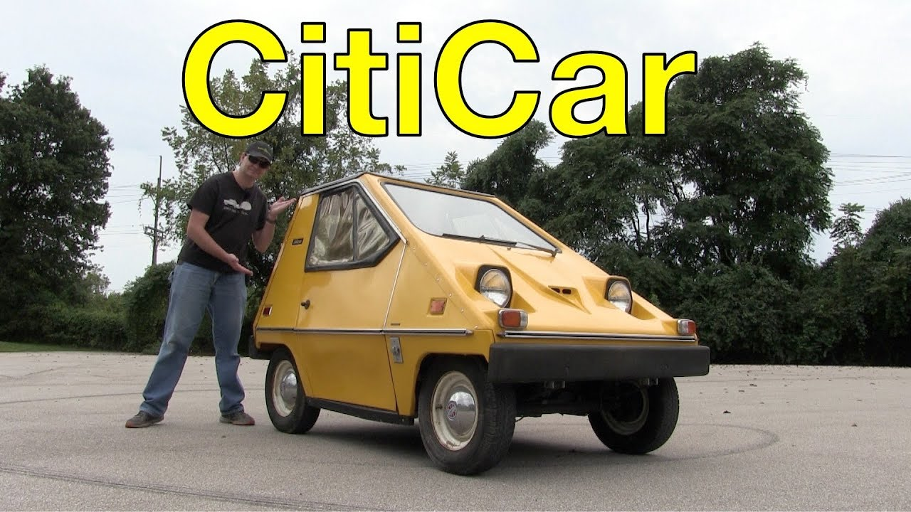 The CitiCar is an Electric Cheese Wedge From the 70's