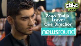 Zayn Malik leaves One Direction - Fan Reactions - CBBC Newsround