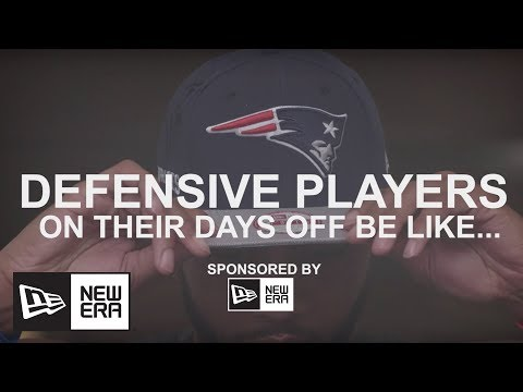 Defensive players on their off days be like… | New Era Cap