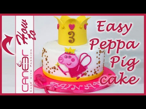 how to make a peppa pig fairy princess cake