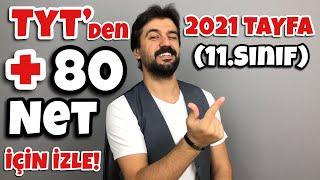 Download 2021 Tayfa (11.Sınıf) TYT'de +80 Net Hedefleyen İzlesin! Video