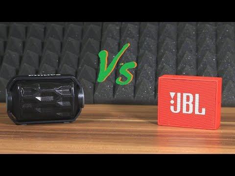 JBL Go vs Philips BT2200b speaker battle sound/bass test