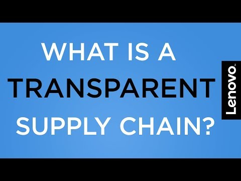 What is a Transparent Supply Chain?