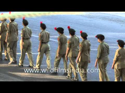 Women who aspire to join the Indian Army