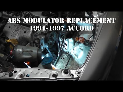 1994-1997 Accord ABS Modulator Replacement
