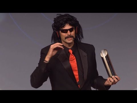 DrDisRespect's Speech for Winning Streamer of the Year 2017!
