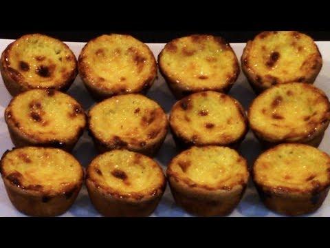 How to Make Portuguese Custard Tarts - Pastel de Nata