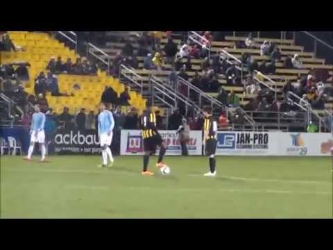 Charleston vs. NYCFC: Black & Yellow /