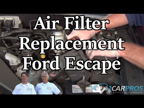 Air Filter Replacement Ford Escape 2000-2006