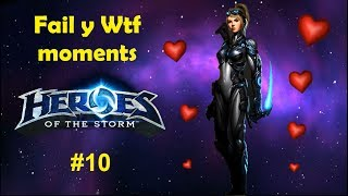 Nuestros Fail y Wtf moments - Heroes Of The Storm #10