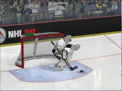 NHL 09 shootout (PC)