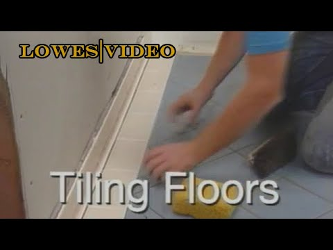 How to Lay a New Tile Floor (full video)
