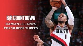 Damian Lillard's Best Deep Threes of The Season So Far | B/R Countdown