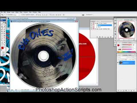 How to make a CD cover