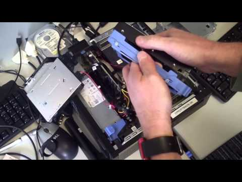 Replace Hard Drive in Dell Optiplex 790 (and 9020) SFF