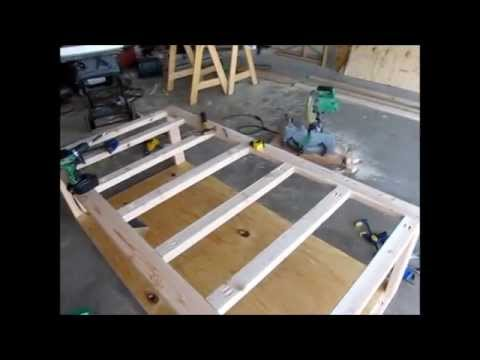 DIY Day Bed Part 1 - Rough Frame and Design