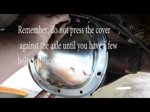 How to fix a leaking differential cover on a G.M. vehicle