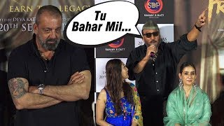 Sanjay Dutt & Jackie Shroff's Back To Back 'Tapori' Funny Moments | Dada Trolls Journalist
