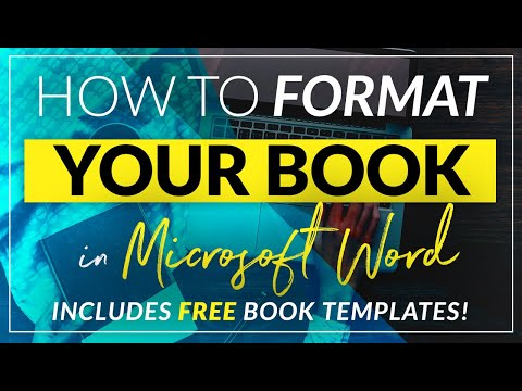 How to format a book for print in MS Word: a step by step tutorial to book design