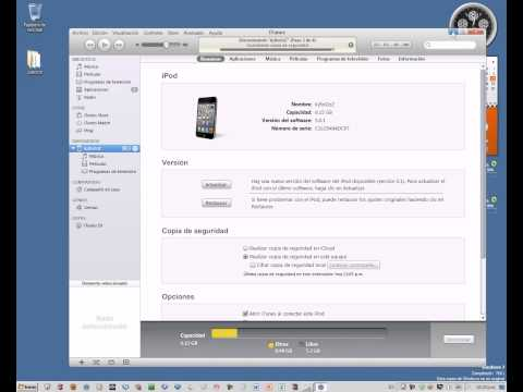 Downgrade para IOS 5.1 a 5.0.1 con Redsn0w 0.9.11b4