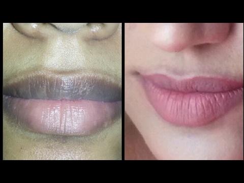 How to apply nude lipstick on pigmented dark lips  കറുത്ത ചുണ്ടിൽ എങ്ങനെ ലിപ്സ്ടിക് ഇടാം