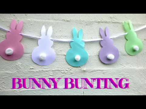 Easter Crafts - Bunny Bunting