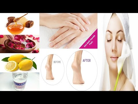 Get soft, Wrinkle Free Hands & Feet | Home remedy for Dry and Rough Hands & feet| Dry Skin Treatment