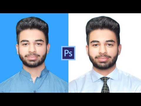 How to Change Background & Shirt on Passport Size Photo in Photoshop