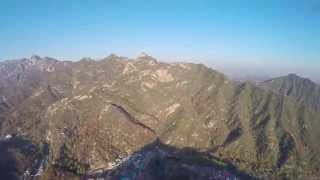 Flying Over the Great Wall of China