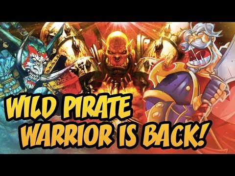 Hearthstone: Wild Pirate Warrior is Back!