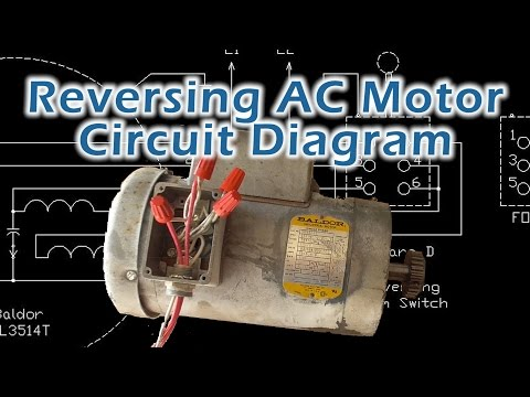 Reverse Baldor Single Phase AC Motor Circuit Diagram
