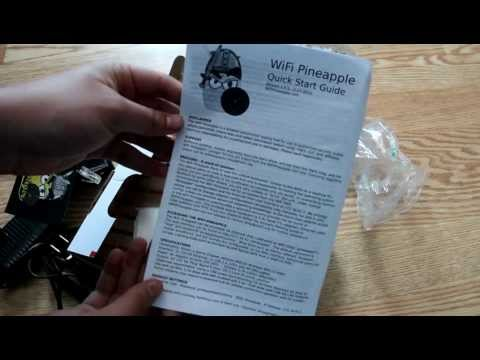 Wi-Fi Pineapple Mark IV Unboxing