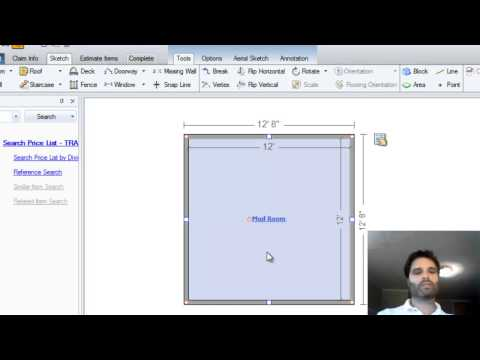 Learn Xactimate from Adam.  Sketch  rooms with multiple jogs (3 of )