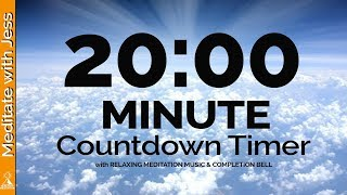 20 Minute Timer with Pop Music For Kids! Fun Timer for