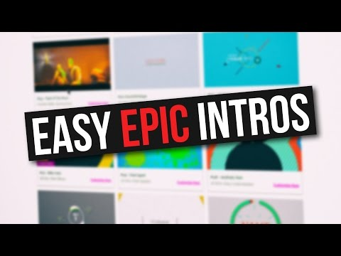 How to create awesome YouTube intros without software!!