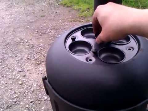 DIY Gas Bottle Stove