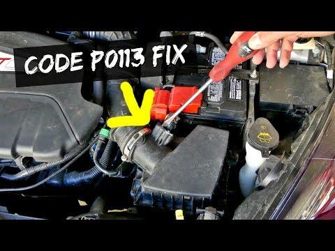 FORD FIESTA CODE P0113  Intake Air Temperature FIX MASS AIR FLOW SENSOR
