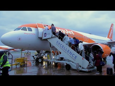 easyJet Airbus A320-214 Manchester to Amsterdam | Full Flight